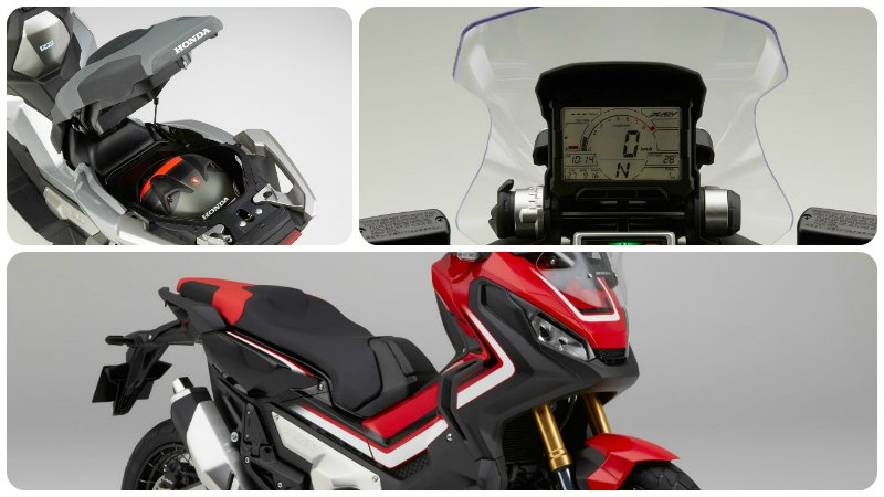 honda X ADV 2017 collage 1