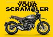Crea tu propia Ducati Scrambler con el nuevo configurador