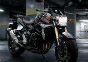 Suzuki GSR 750 Black Mat 2013