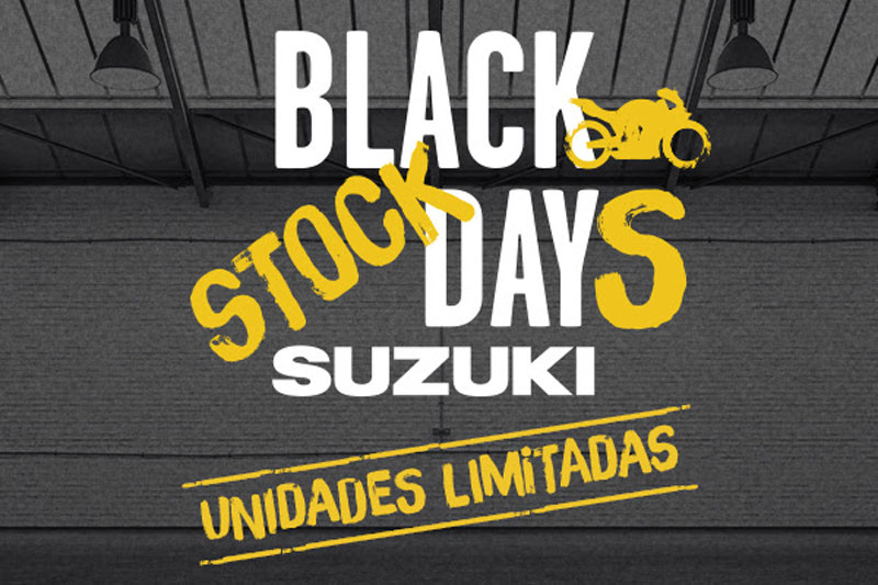 suzuki black stock days noticia