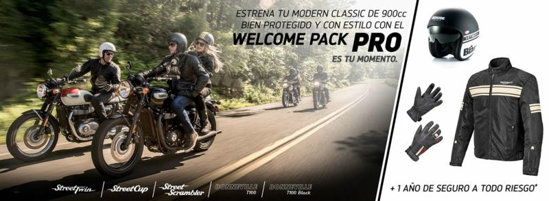triumph welcome pack pro noticia 1