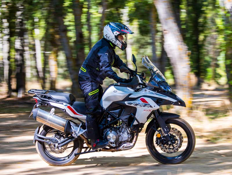 benelli trk 502 x 2018 off road