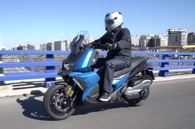 bmw c 400 gt prueba video