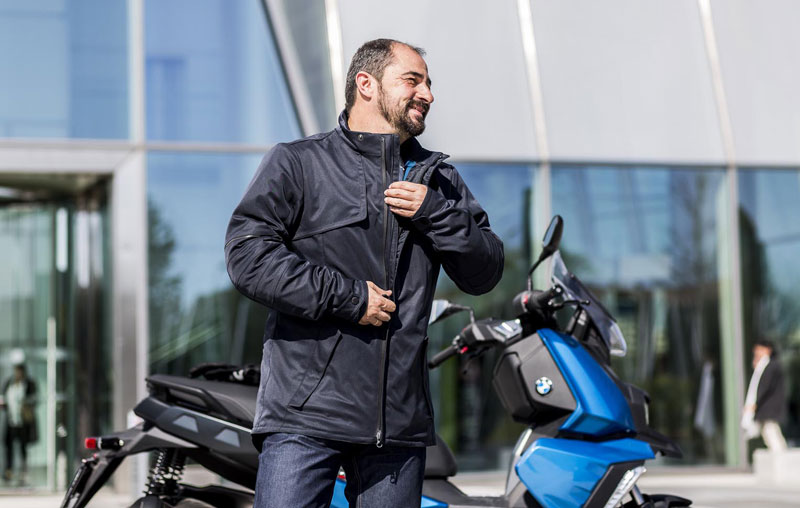 chaqueta downtown equipamiento urban bmw scooter 2019