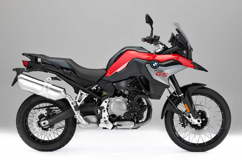 bmw f 850 gs 2018 lateral rojo
