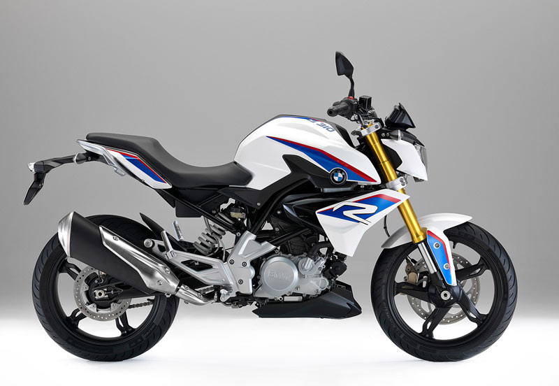bmw g 310 r 2016 blanca lateral