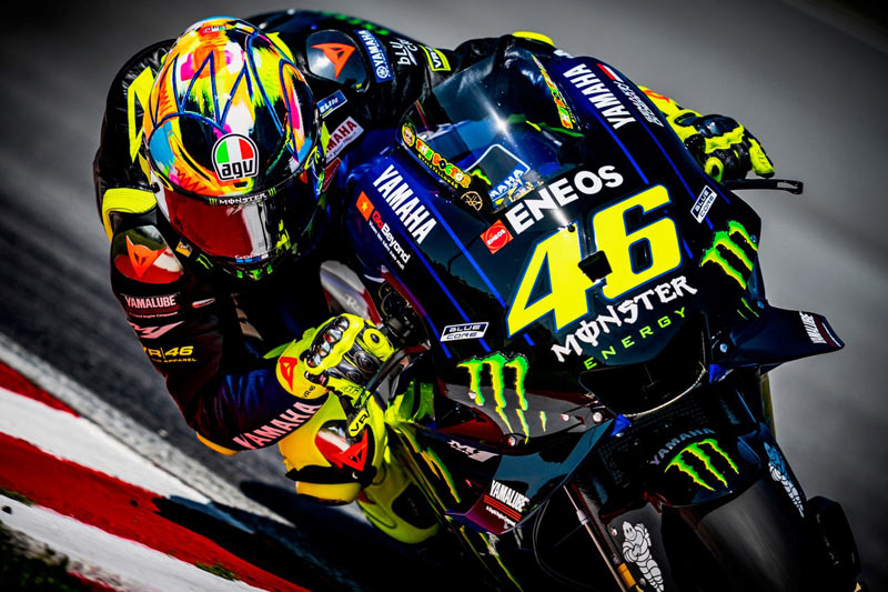 agv rossi winter test 2019 noticia