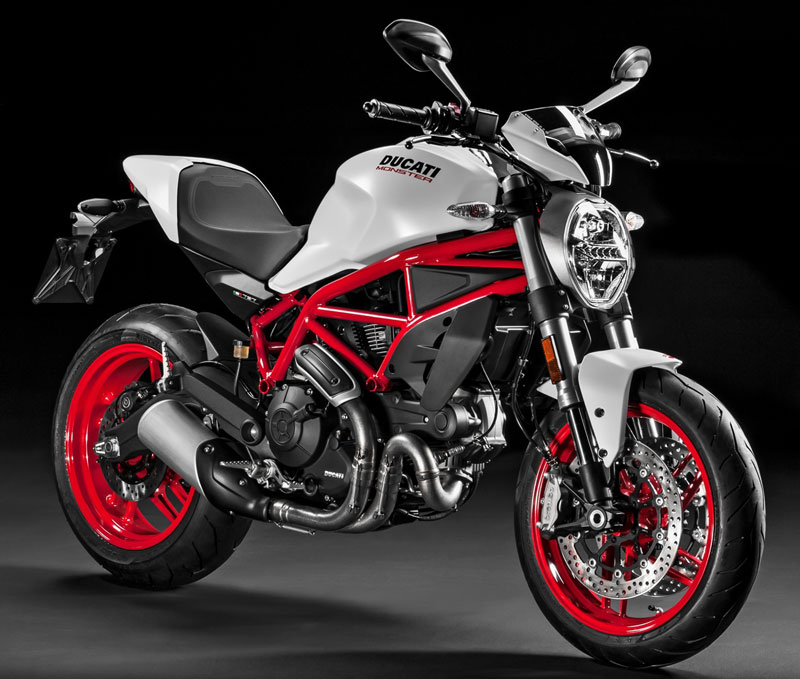 ducati monster 796 plus perfil