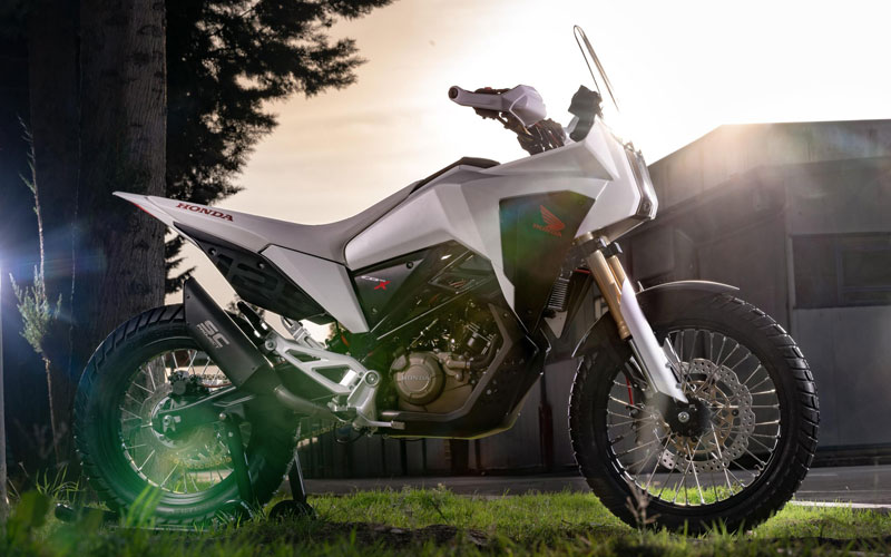 honda cb125x concept model noticia