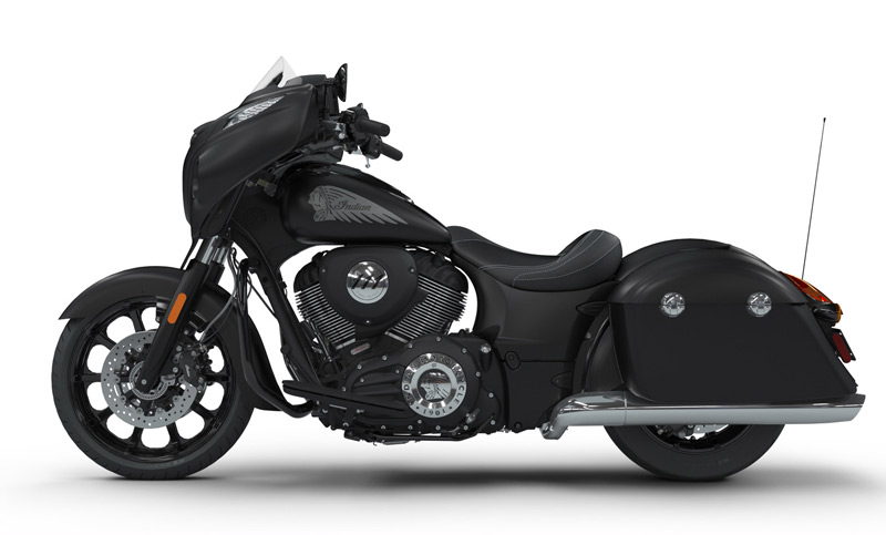 indian chieftain dark horse 2018 perfil