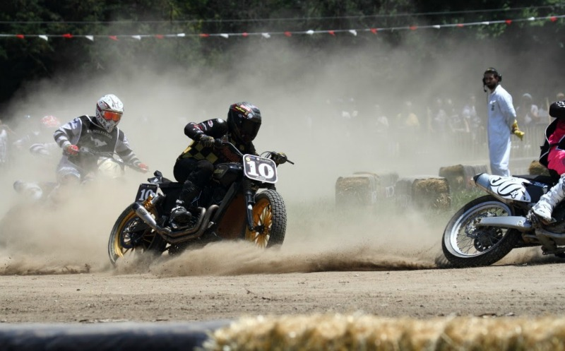 wheels and waves flat track race