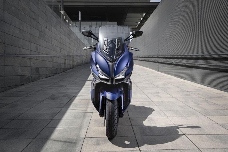 kymco xciting s 400 pack comercial noticia