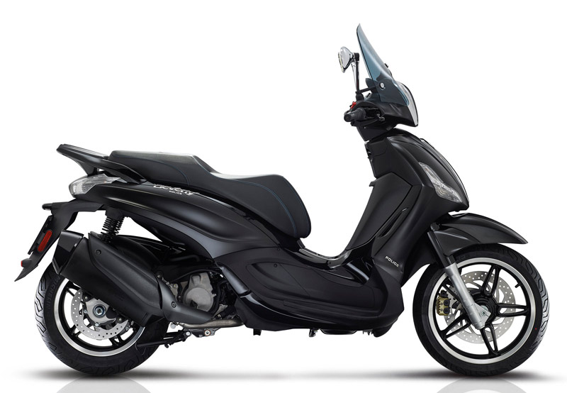 14 piaggio beverly 350 sport touring by police 2018