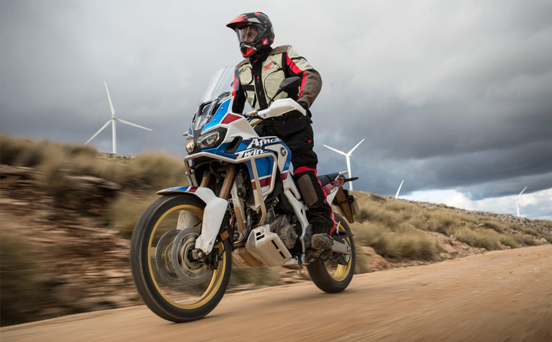 honda africa twin adventure sports accion
