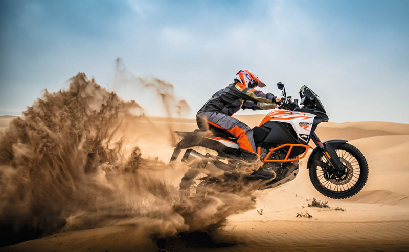 ktm 1290 super adventure r 2017 accion