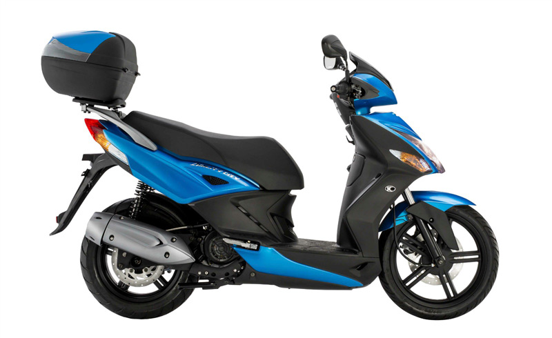 kymco agility city 125 2016 estatica azul
