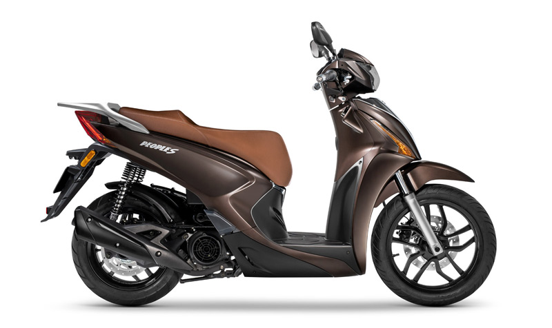 kymco people s 125 2018 estatica marron