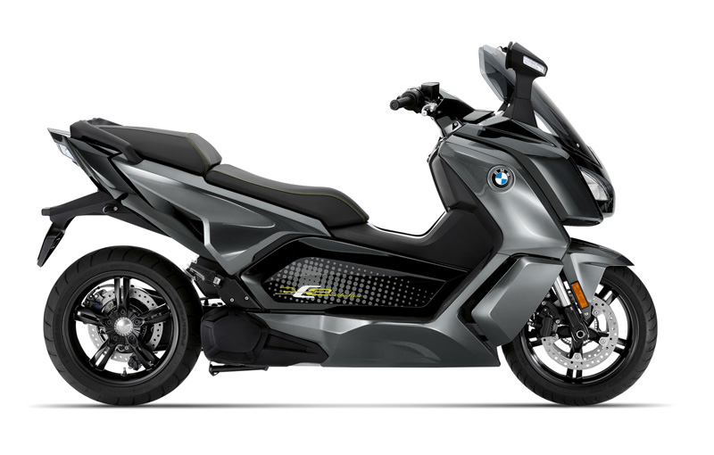 bmw c evolution 2019 gris negro perfil