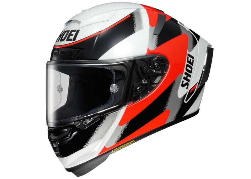 prueba shoei x spirit 3 rainey texto