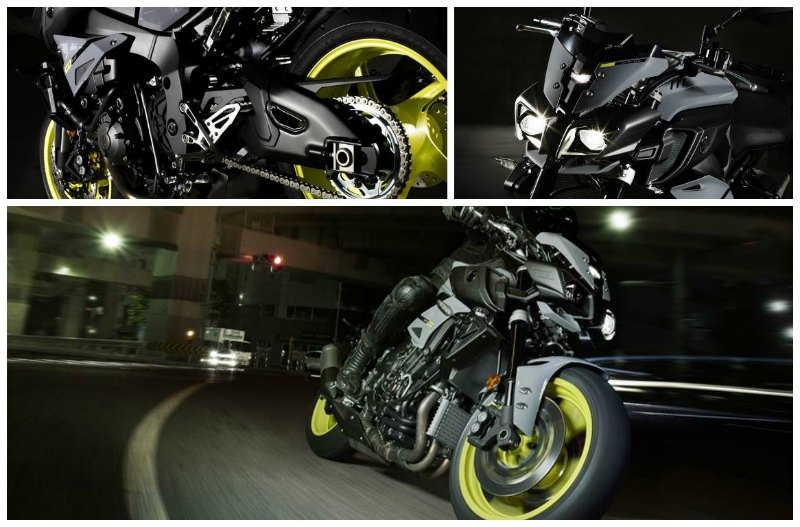 Yamaha MT 10 collage