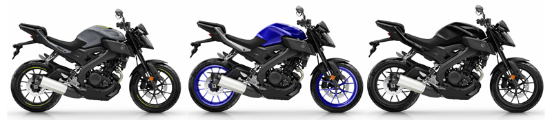 colores yamaha mt 125 2017