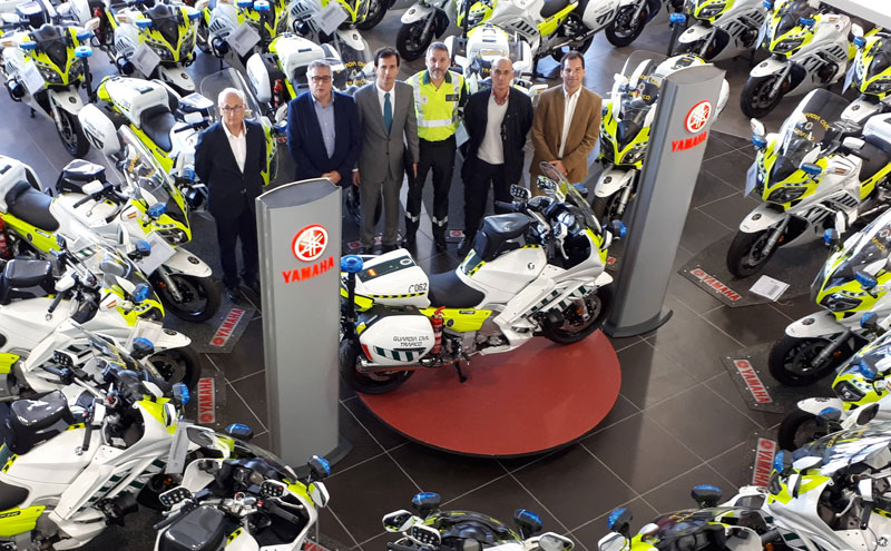 yamaha fjr 1300 guardia civil