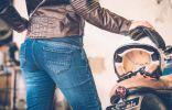 Vaqueros de moto Overlap Manx y City Lady