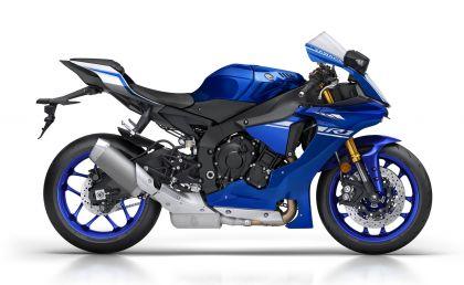 1 yamaha yzf r1 2017 race blu perfil-gallery