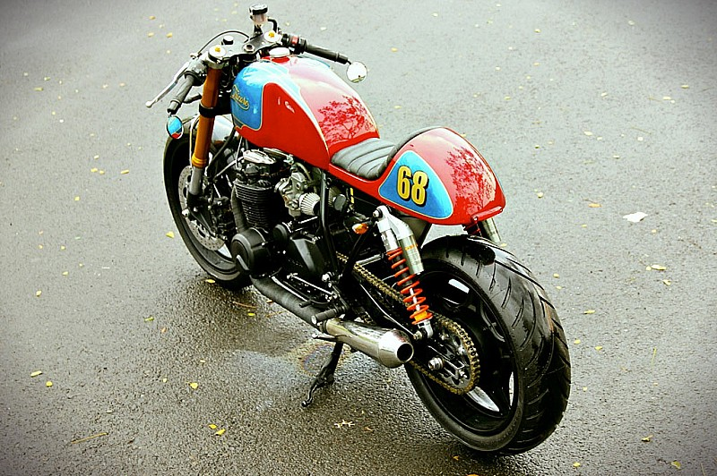 Honda Cafe Racer The Tricolore