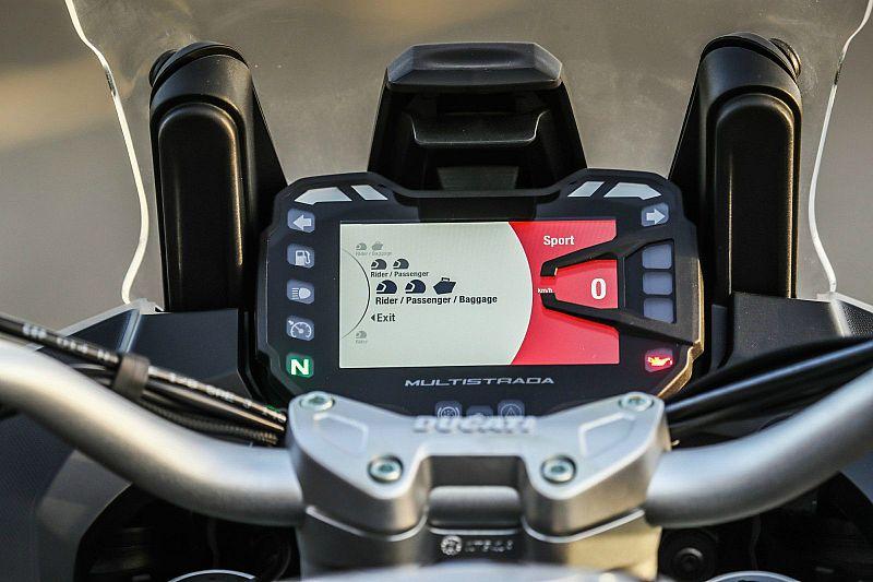Prueba Ducati Multistrada 1260 S 2018 en Valencia