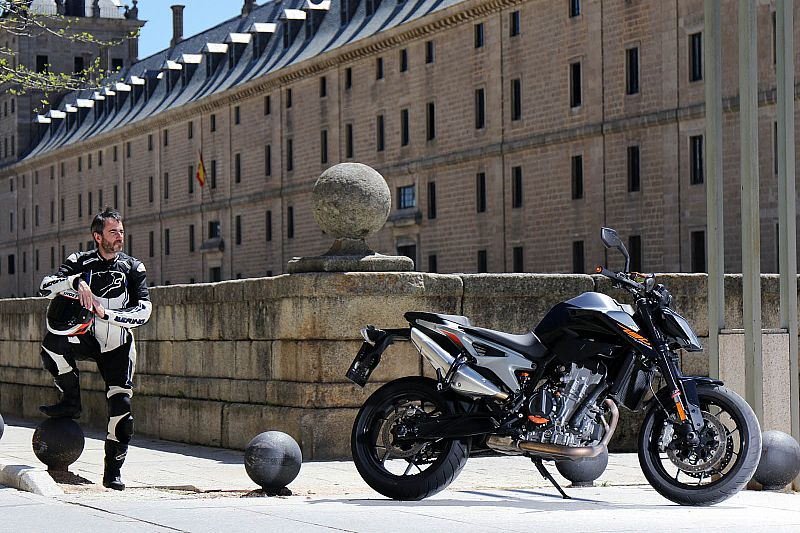 Prueba KTM 790 Duke 2018