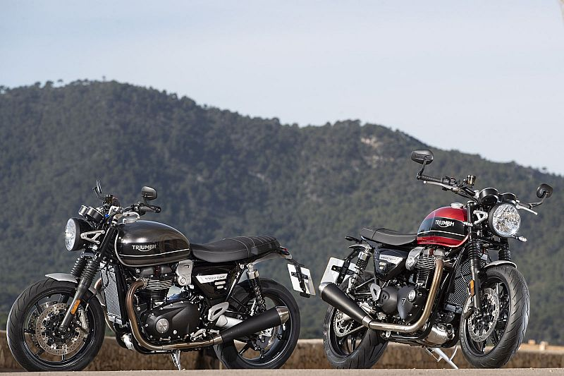Triumph Speed Twin en Mallorca