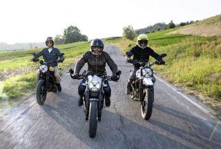 Ducati presenta tres nuevas Scrambler