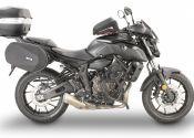 Equipamiento Givi para la Yamaha la MT-07