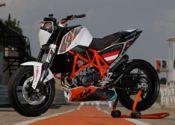 KTM 690 Duke Track: sólo para circuito