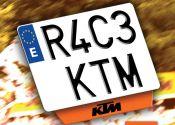 Consigue tu matrícula KTM
