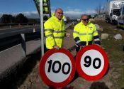Los nuevos límites de velocidad