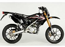MH Motorcycles RYZ 50 Pro Racing Urban Bike Black Line