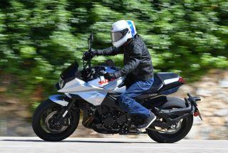 Prueba Suzuki Katana 2019: espíritu guerrero