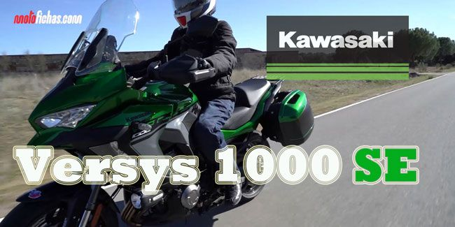 Videoprueba Kawasaki Versys 1000 SE