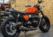 Triumph Street Twin 'Down and Out Cafe-Racers'