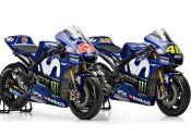 Yamaha presenta su equipo 2018 para MotoGP: fotos y vídeo