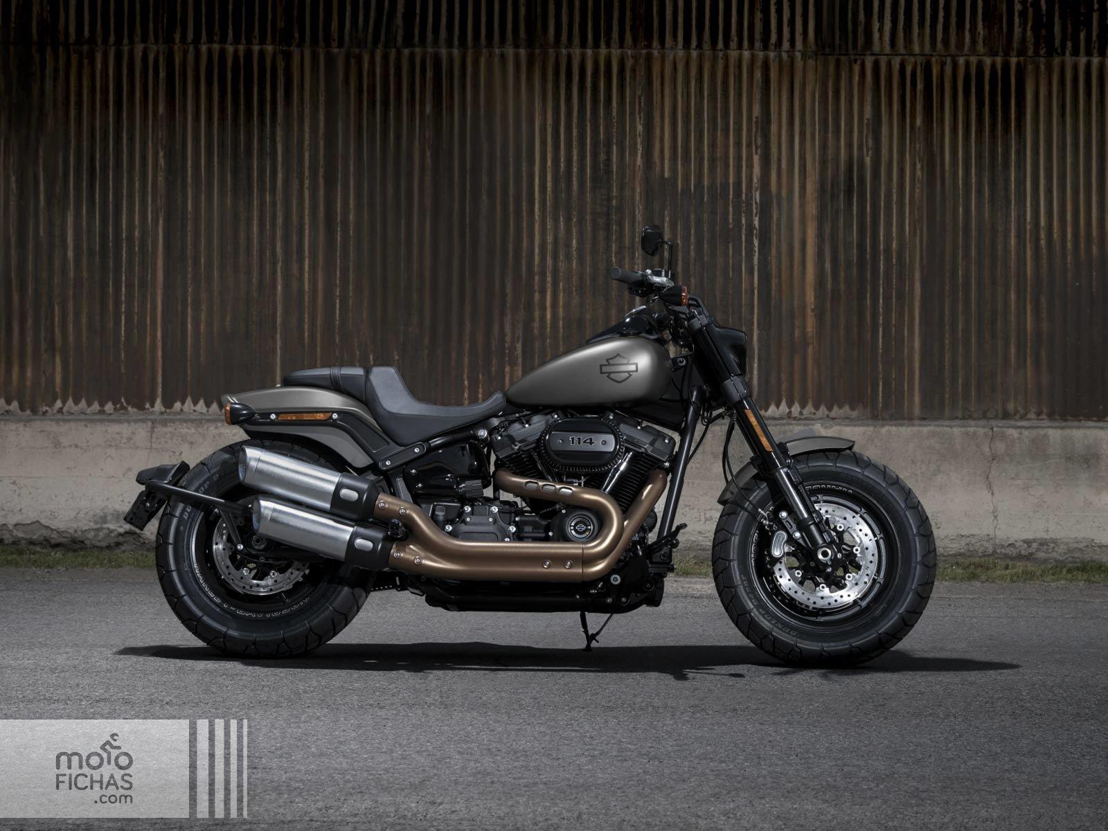 Harley Davidson Fat Bob 2018 2020 Precio Ficha Opiniones Y Ofertas