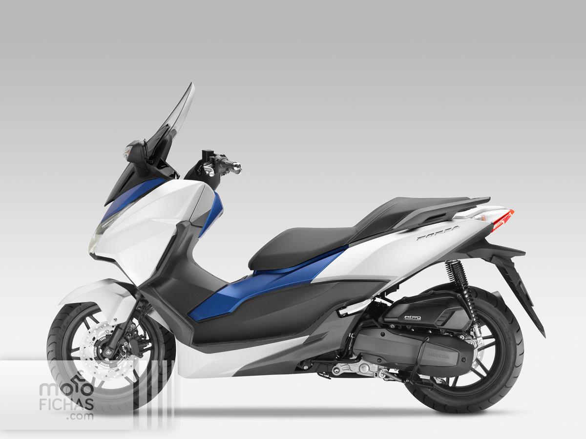 Honda Forza 300 Tuning >> Honda Forza 125 precio ficha opiniones y ofertas