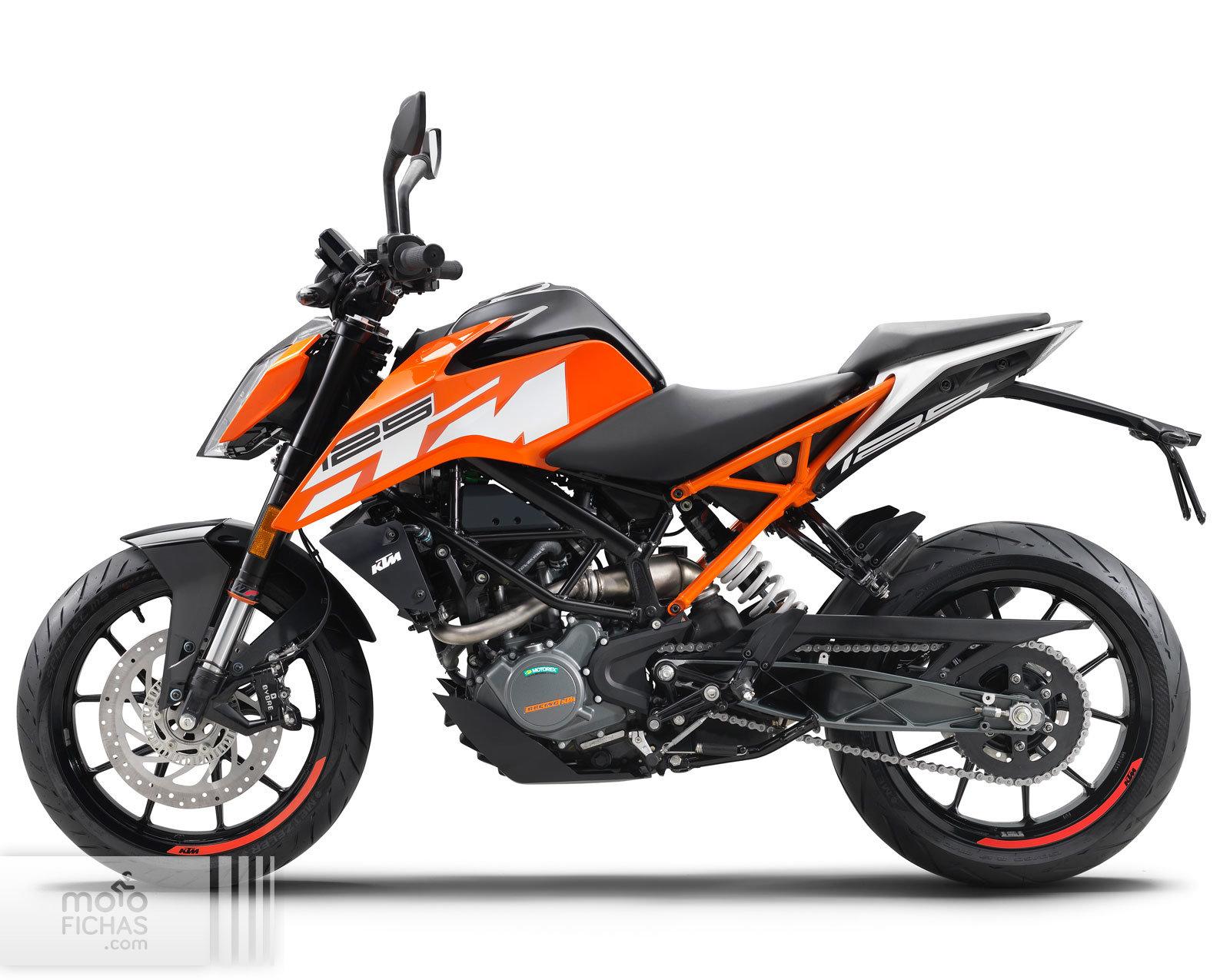KTM 125 Duke 2018 precio ficha opiniones y ofertas