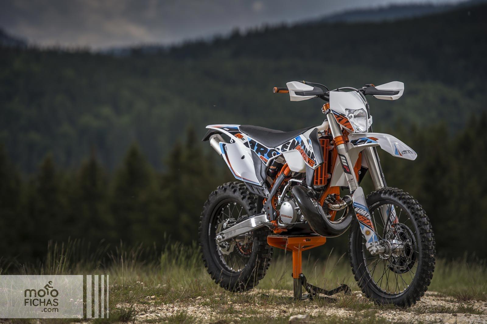 KTM EXC 300 Six Days 2015 precio ficha opiniones y ofertas