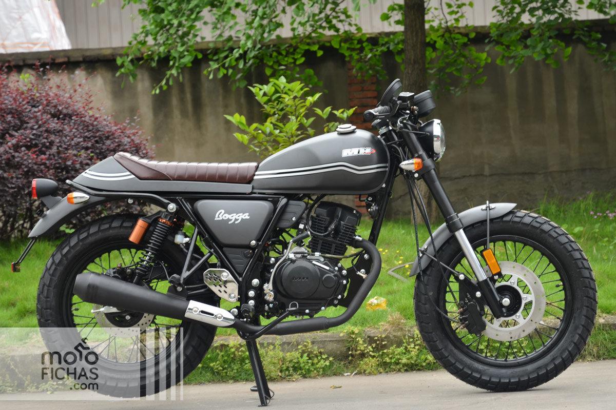 MH Motorcycles Duna 125 Sports City SM precio ficha