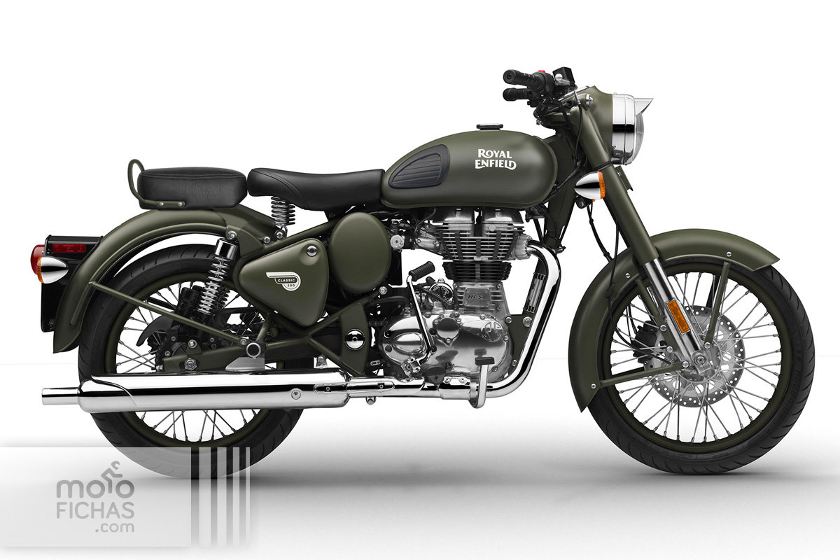 08 royal enfield classic 500 battle green 2017