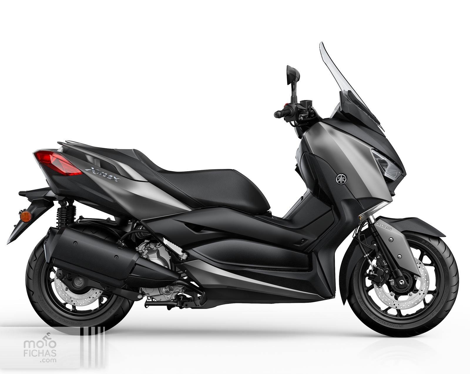 Funda de Asiento para Yamaha NMAX 125 Negro-Gris