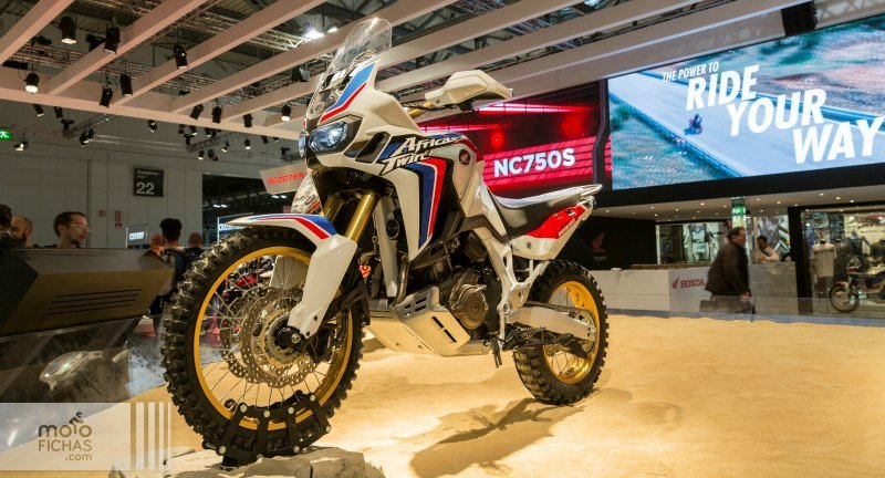 Honda CRF1000L Africa Twin adventure sports concept